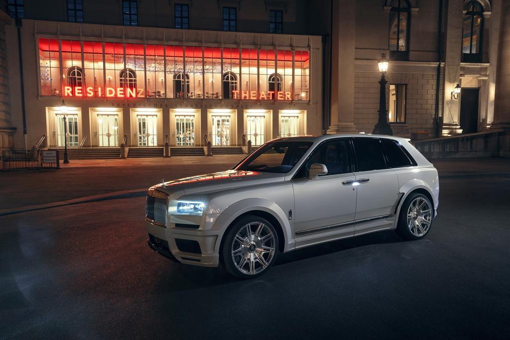 Rolls-Royce Cullinan hầm hố hơn với gói độ từ Novitec Ảnh 1