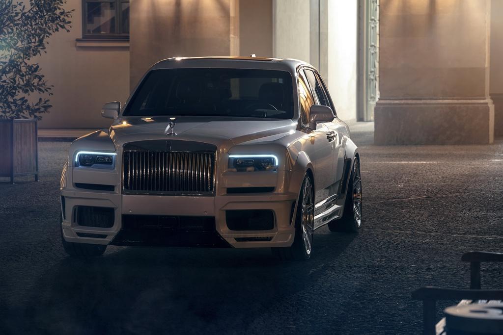 Rolls-Royce Cullinan hầm hố hơn với gói độ từ Novitec Ảnh 2