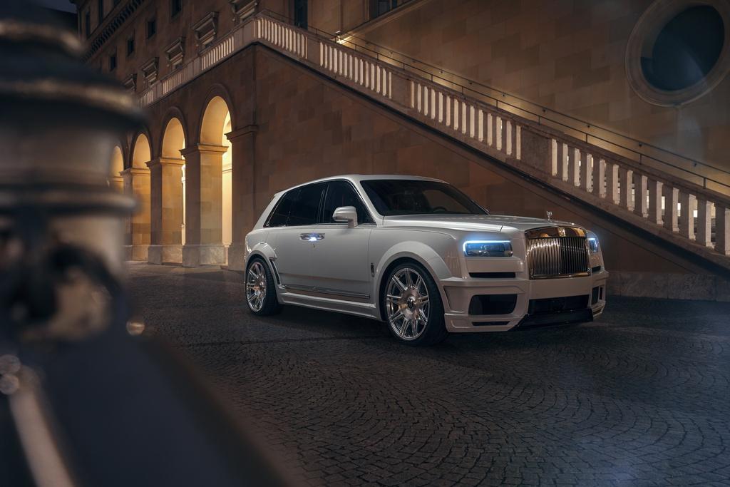 Rolls-Royce Cullinan hầm hố hơn với gói độ từ Novitec Ảnh 6