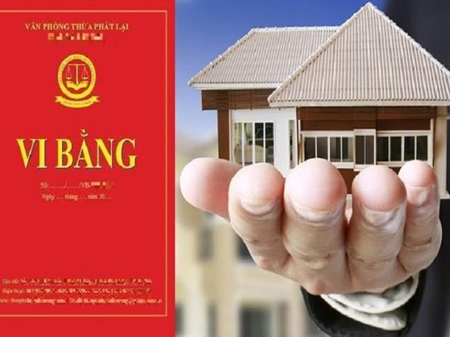 Thừa phát lại không được lập vi bằng mua, bán nhà, đất Ảnh 1