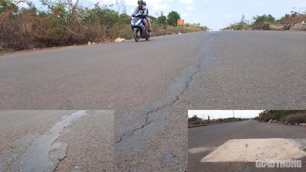 Đắk Lắk: Cận cảnh đại lộ nghìn tỷ thi công dang dở, chằng chịt vết nứt Ảnh 8