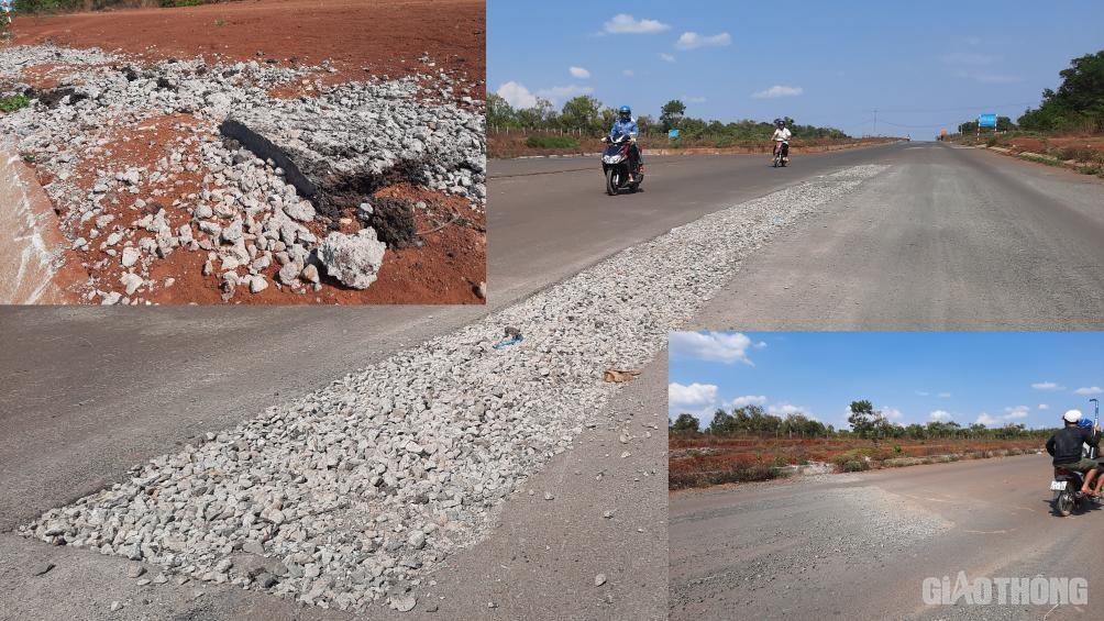 Đắk Lắk: Cận cảnh đại lộ nghìn tỷ thi công dang dở, chằng chịt vết nứt Ảnh 3