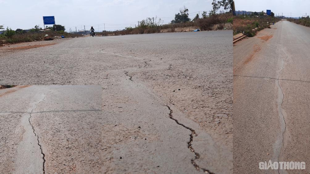 Đắk Lắk: Cận cảnh đại lộ nghìn tỷ thi công dang dở, chằng chịt vết nứt Ảnh 2