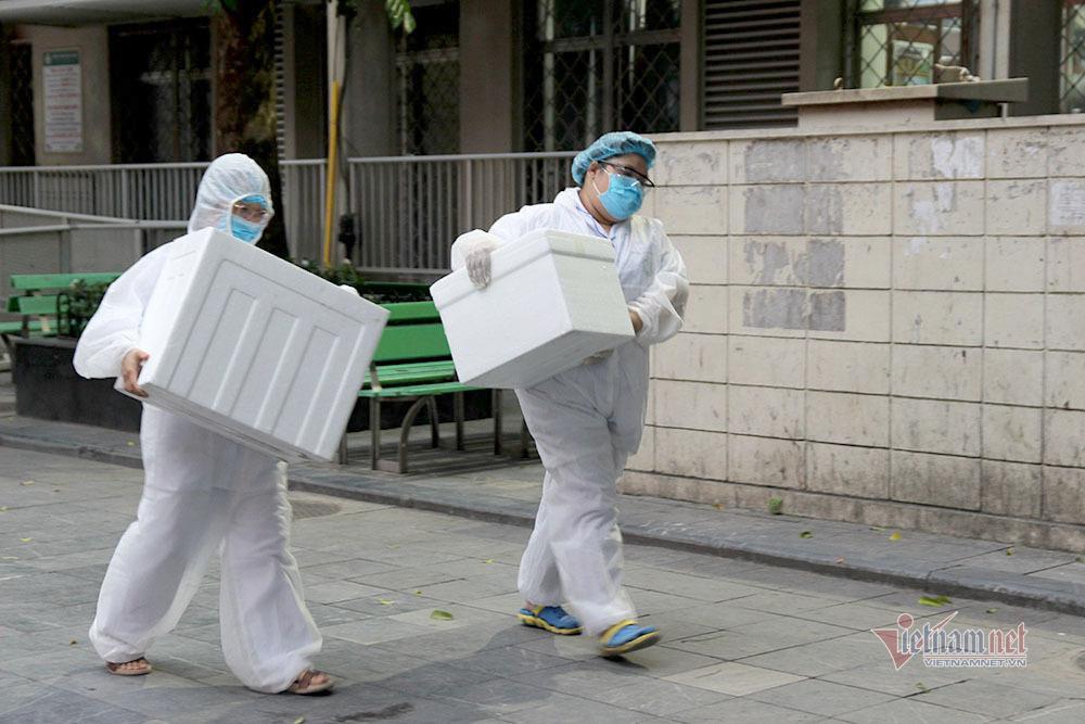Nữ nhân viên công ty xăng dầu ở Long Biên nhiễm Covid-19 đã tới 5 địa điểm