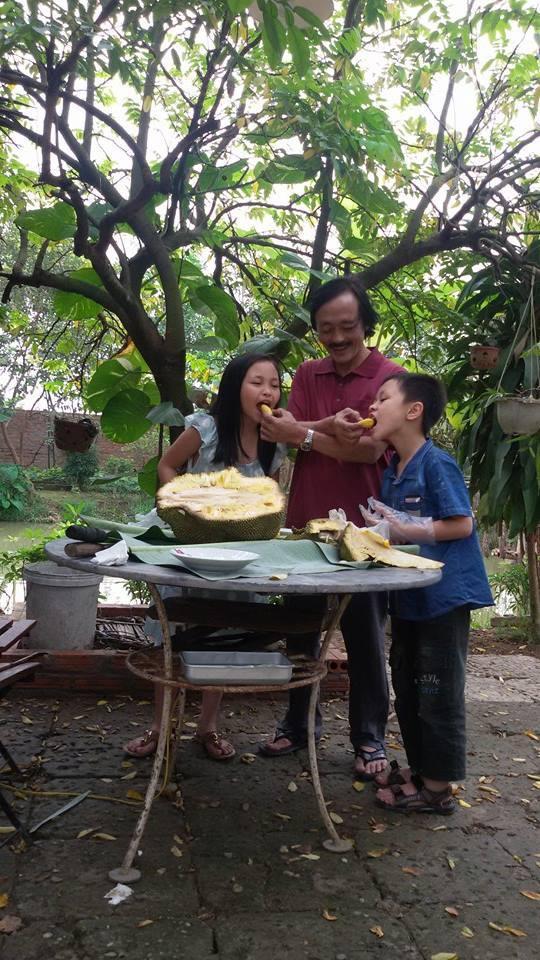 Nhà vườn 10.000m2 của nghệ sĩ Giang còi ngập hoa và trái cây Ảnh 9