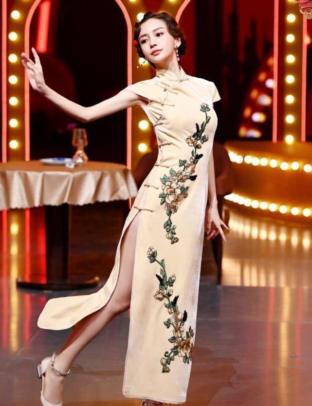 AngelaBaby ma mị với trang phục sườn xám trong show 'Vương Bài Đối Vương Bài' Ảnh 3