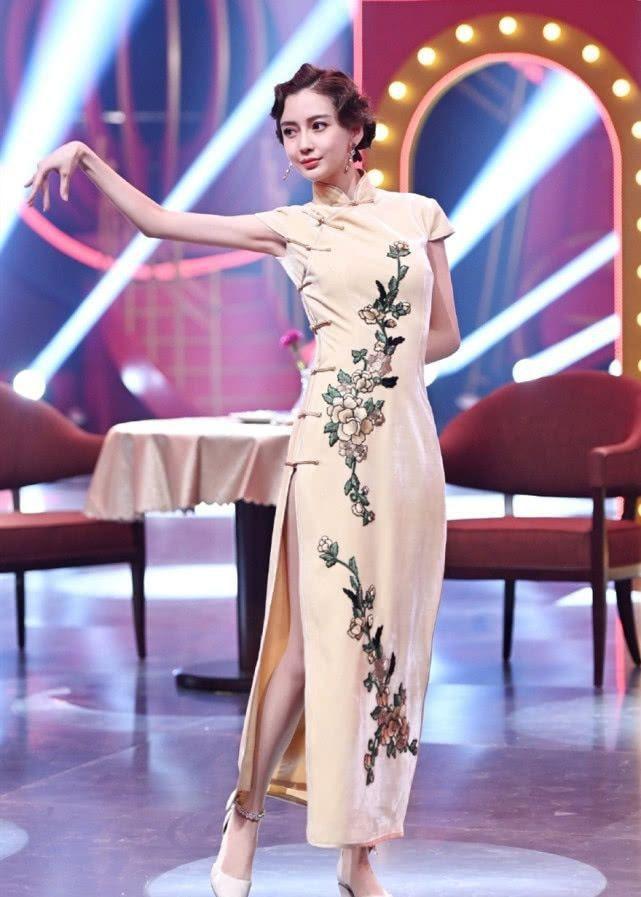 AngelaBaby ma mị với trang phục sườn xám trong show 'Vương Bài Đối Vương Bài' Ảnh 2