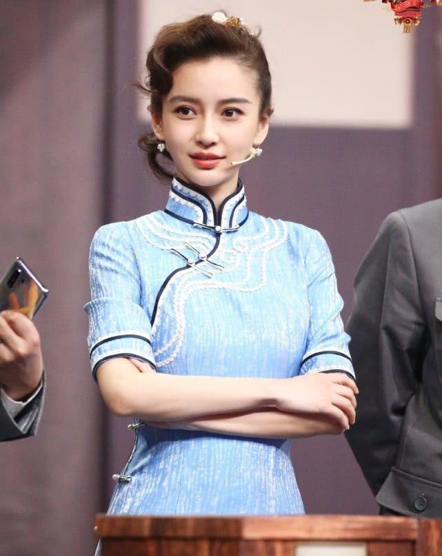AngelaBaby ma mị với trang phục sườn xám trong show 'Vương Bài Đối Vương Bài' Ảnh 8