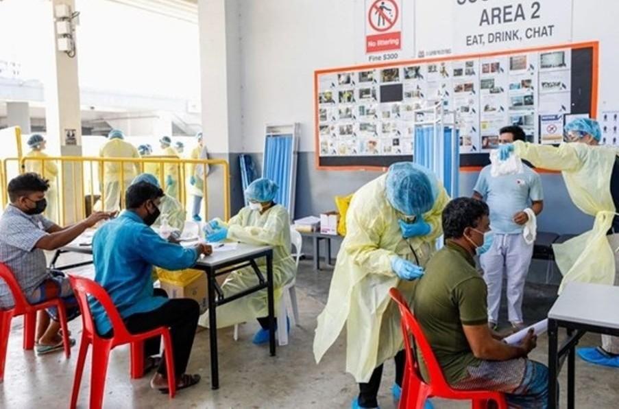 COVID-19: Singapore lại lập kỷ lục mới về số ca nhiễm bệnh trong ngày Ảnh 1