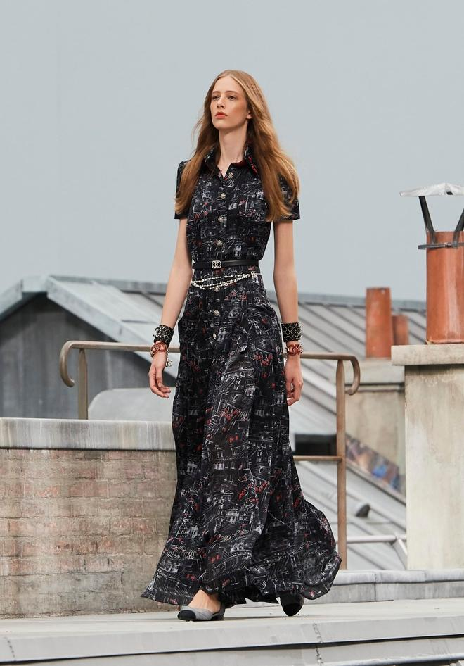 Nữ chính 'Quân vương bất diệt' mặc đồ Chanel sang chảnh như người mẫu Ảnh 3