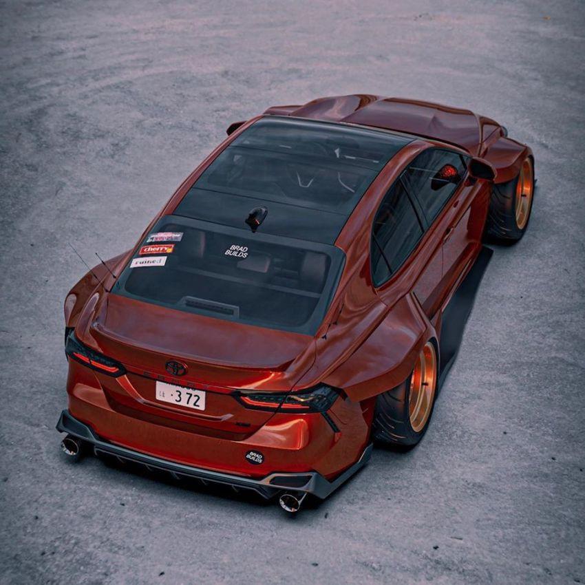 Hình ảnh Toyota Camry XV70 'ngầu' hơn với Brad Builds Ảnh 10