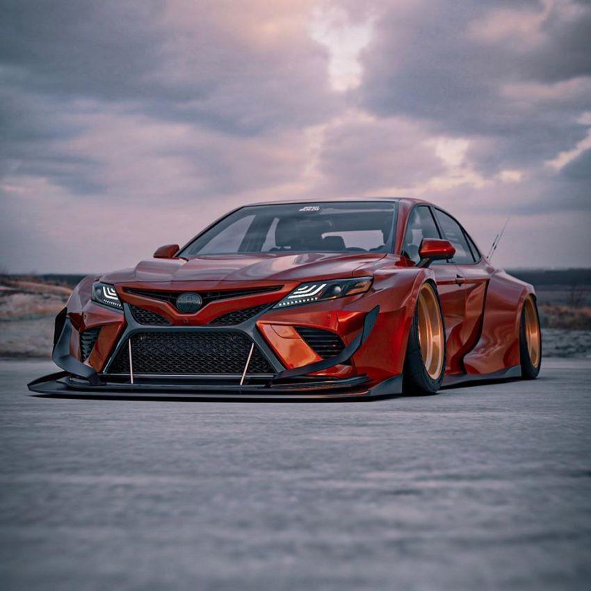Hình ảnh Toyota Camry XV70 'ngầu' hơn với Brad Builds Ảnh 4