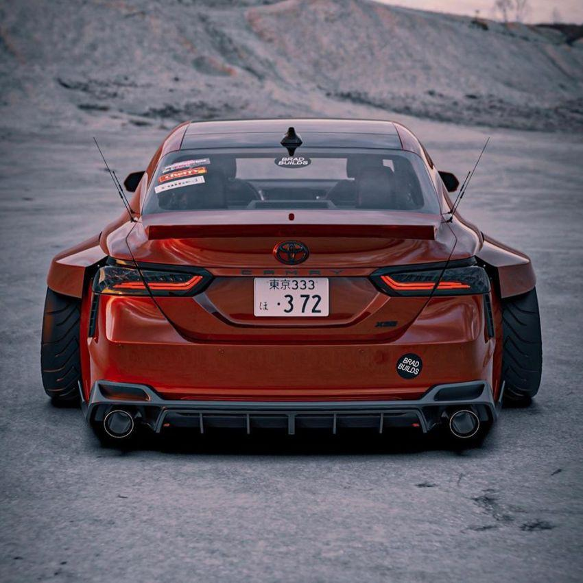 Hình ảnh Toyota Camry XV70 'ngầu' hơn với Brad Builds Ảnh 2