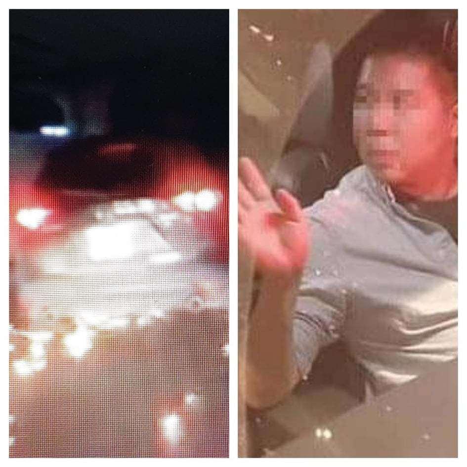 Tài xế xe Mazda CX5 gây tai nạn rồi bỏ chạy 'tóe lửa' vi phạm nồng độ cồn Ảnh 1