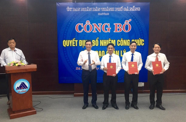 Đà Nẵng bổ nhiệm 3 Phó Giám đốc Sở Nội Vụ, Tài chính và NN-PTNT Ảnh 1
