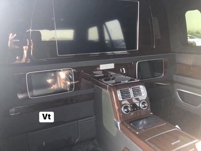 Range Rover phiên bản lạ chào hàng đại gia Việt với giá hơn 19 tỷ đồng: Dài hơn Rolls-Royce Phantom EWB, chống đạn, nội thất siêu sang Ảnh 8