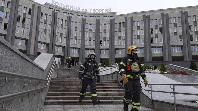 Cháy bệnh viện chữa Covid-19 ở Nga, 5 người thiệt mạng Ảnh 1