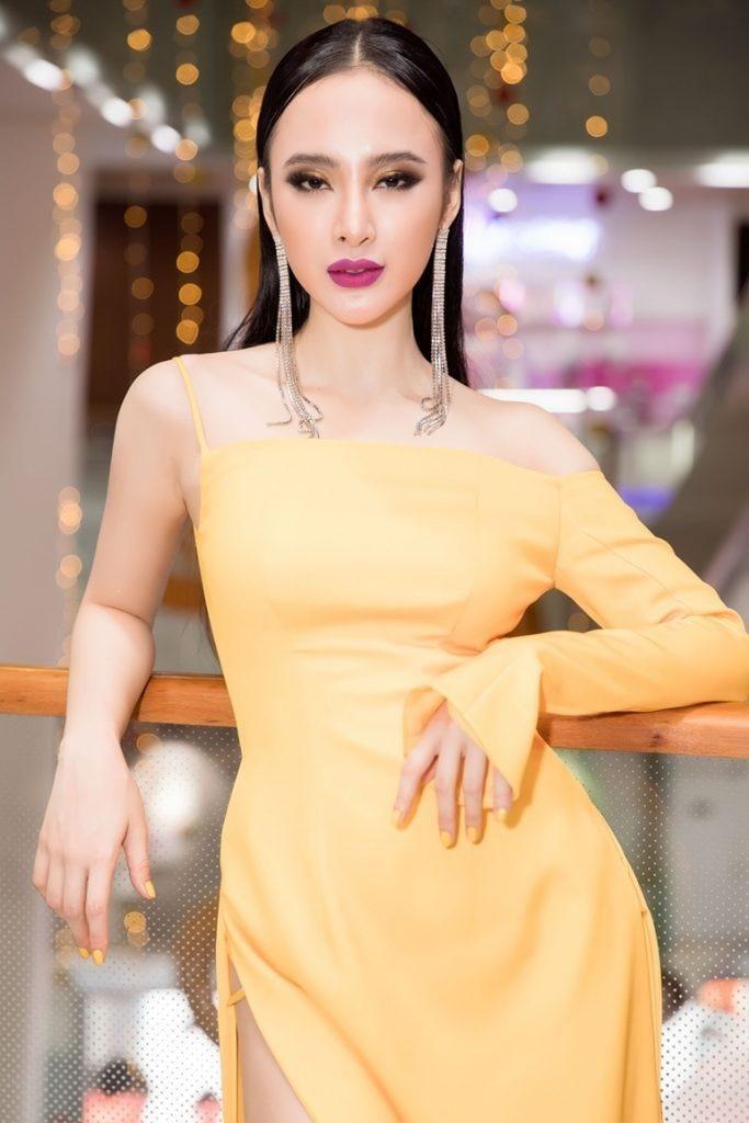 Mặc màu vàng quyền lực, Angela Phương Trinh khi lộng lẫy như bà hoàng lúc 'lạc quẻ' khó đỡ Ảnh 8