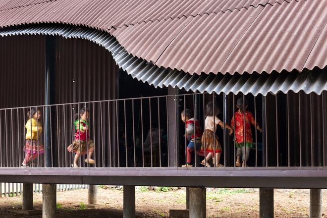 Trường mầm non ở Sơn La lọt top 10 dự án kiến trúc thế giới Ảnh 8