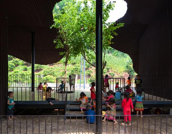 Trường mầm non ở Sơn La lọt top 10 dự án kiến trúc thế giới Ảnh 2