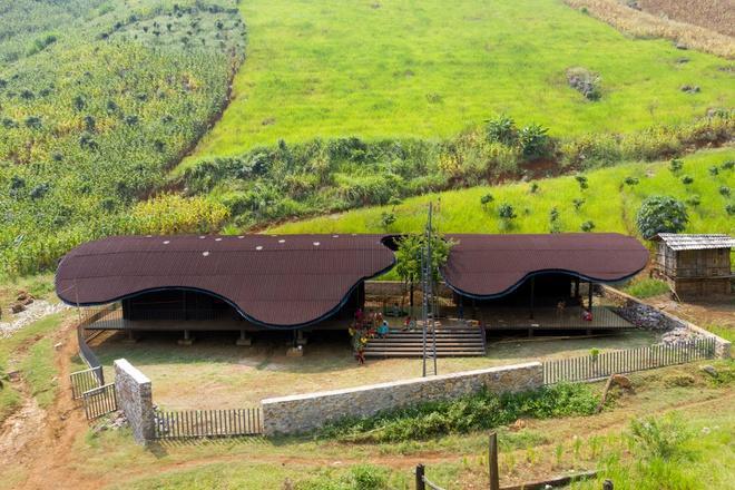 Trường mầm non ở Sơn La lọt top 10 dự án kiến trúc thế giới Ảnh 1
