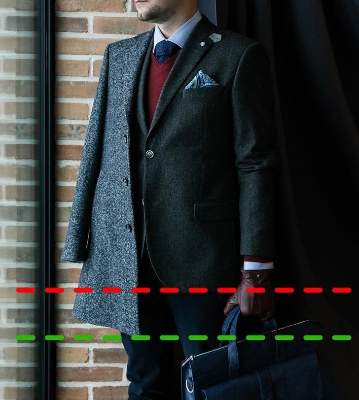 10 lỗi trang phục phổ biến nam giới hay mắc phải (P1) Ảnh 1