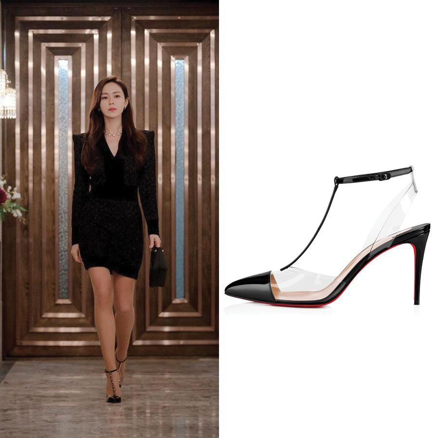 Cứ xem phim Hàn là kiểu gì chị em cũng bắt gặp mẫu giày cao gót 'chanh sả' mà siêu hack dáng này Ảnh 1