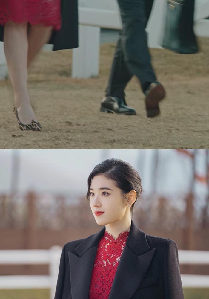 Cứ xem phim Hàn là kiểu gì chị em cũng bắt gặp mẫu giày cao gót 'chanh sả' mà siêu hack dáng này Ảnh 5