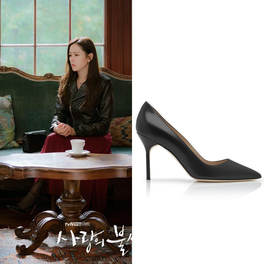 Cứ xem phim Hàn là kiểu gì chị em cũng bắt gặp mẫu giày cao gót 'chanh sả' mà siêu hack dáng này Ảnh 3