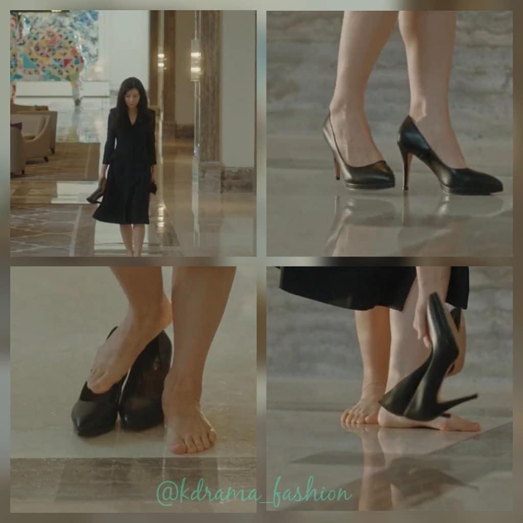 Cứ xem phim Hàn là kiểu gì chị em cũng bắt gặp mẫu giày cao gót 'chanh sả' mà siêu hack dáng này Ảnh 8