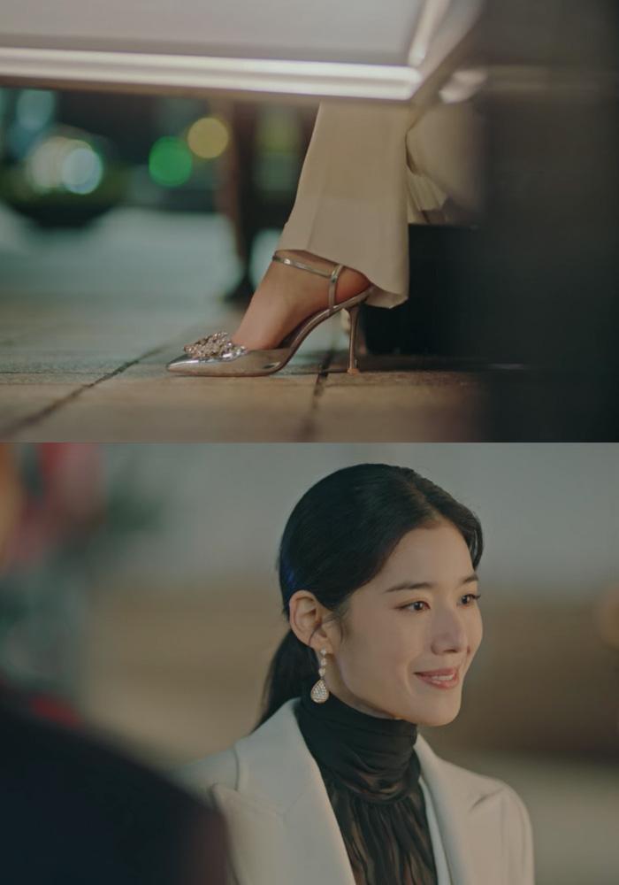 Cứ xem phim Hàn là kiểu gì chị em cũng bắt gặp mẫu giày cao gót 'chanh sả' mà siêu hack dáng này Ảnh 6
