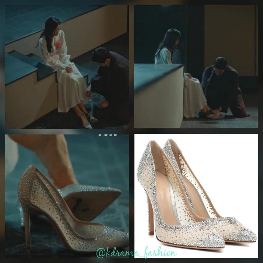 Cứ xem phim Hàn là kiểu gì chị em cũng bắt gặp mẫu giày cao gót 'chanh sả' mà siêu hack dáng này Ảnh 7