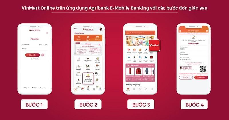 'Đi chợ VinMart Online' ngay trên ứng dụng Agribank E-Mobile Banking Ảnh 3