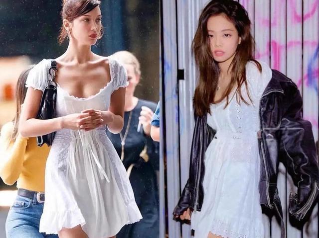 Jennie BLACKPINK 'đụng hàng' Bella Hadid đến 8 lần, thật khó nói ai mặc đẹp hơn! Ảnh 1