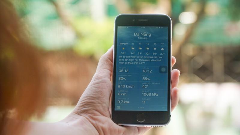Đà Nẵng nắng kỷ lục, nhiệt độ ngoài trời lên tới 42 độ C Ảnh 4