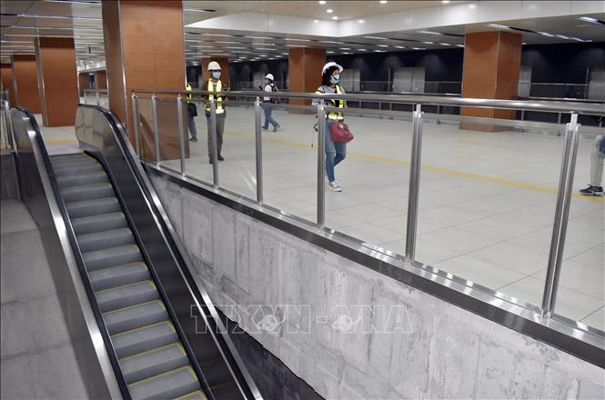 Đẩy nhanh thi công hoàn thiện các nhà ga dự án metro Bến Thành - Suối Tiên Ảnh 1