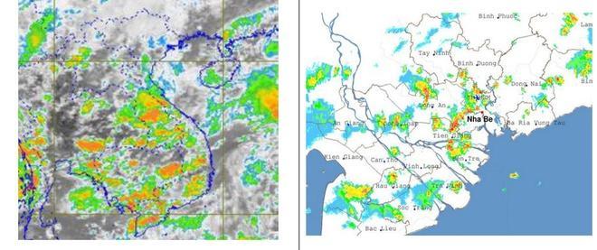 Vì sao TP.HCM mưa dông kèm sấm sét chiều nay? Ảnh 1