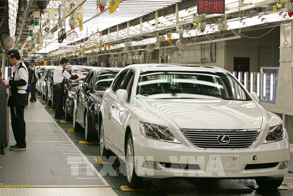 Sản lượng toàn cầu của các hãng ô tô chủ chốt Nhật Bản giảm mạnh Ảnh 1