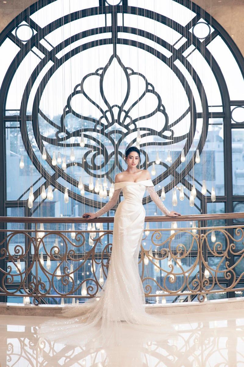 Lương Thùy Linh hóa cô dâu kiêu kỳ, khoe nhan sắc chín muồi ở tuổi 20 Ảnh 7