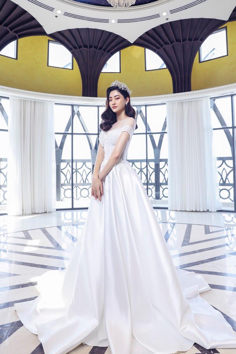 Lương Thùy Linh hóa cô dâu kiêu kỳ, khoe nhan sắc chín muồi ở tuổi 20 Ảnh 11
