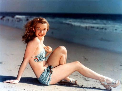 Nhan sắc khuynh đảo một thời của biểu tượng điện ảnh Marilyn Monroe Ảnh 3