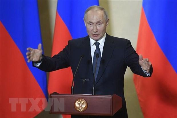 Tổng thống Nga từ chối tham gia Hội nghị vắcxin toàn cầu 2020 Ảnh 1