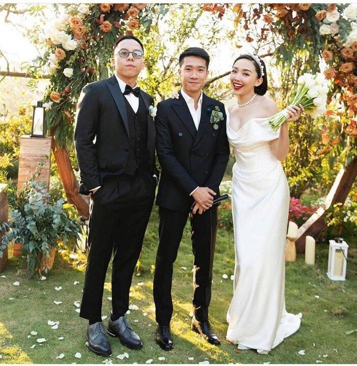 Kelbin Lei tiết lộ ảnh cưới hiếm hoi 'chất phát ngất' của vợ chồng Tóc Tiên - Hoàng Touliver Ảnh 3