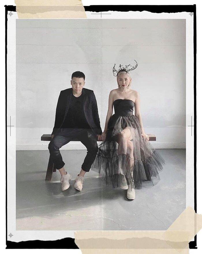 Kelbin Lei tiết lộ ảnh cưới hiếm hoi 'chất phát ngất' của vợ chồng Tóc Tiên - Hoàng Touliver Ảnh 2