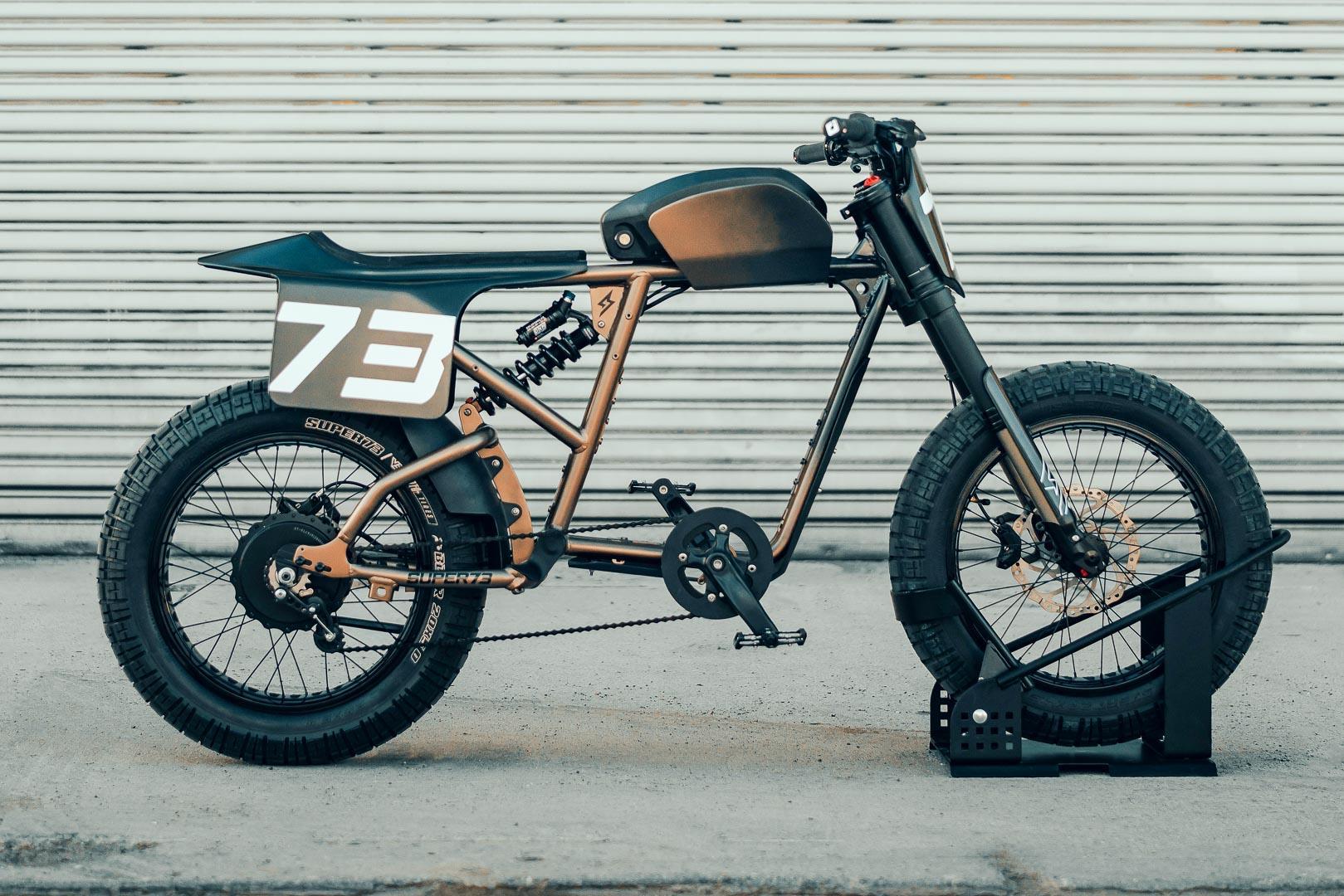 Super73 Flat Track RX: Chiếc xe đạp lai đầy táo bạo Ảnh 1