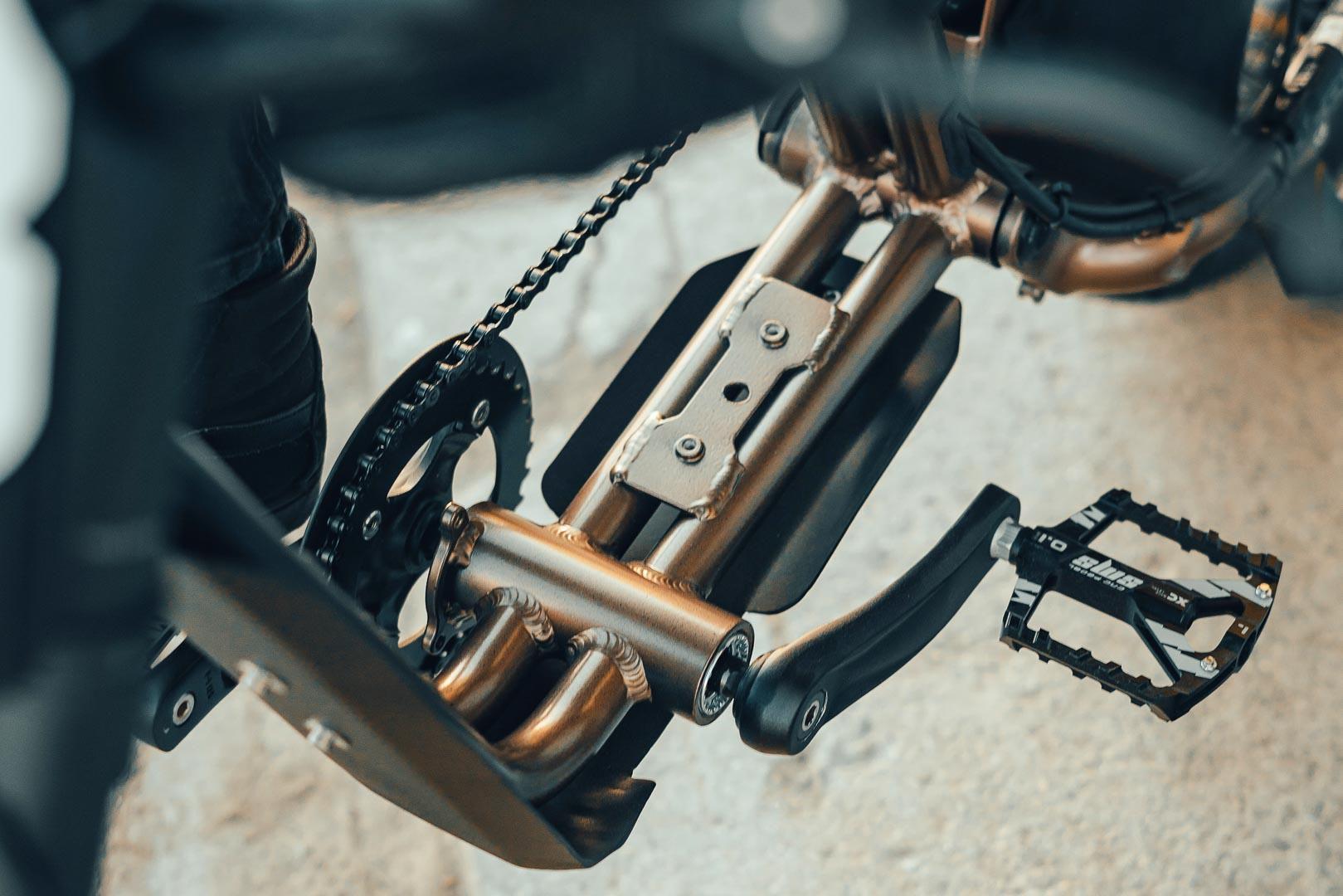 Super73 Flat Track RX: Chiếc xe đạp lai đầy táo bạo Ảnh 6