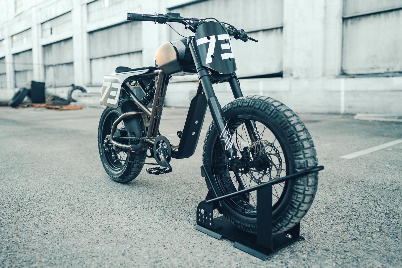 Super73 Flat Track RX: Chiếc xe đạp lai đầy táo bạo Ảnh 2
