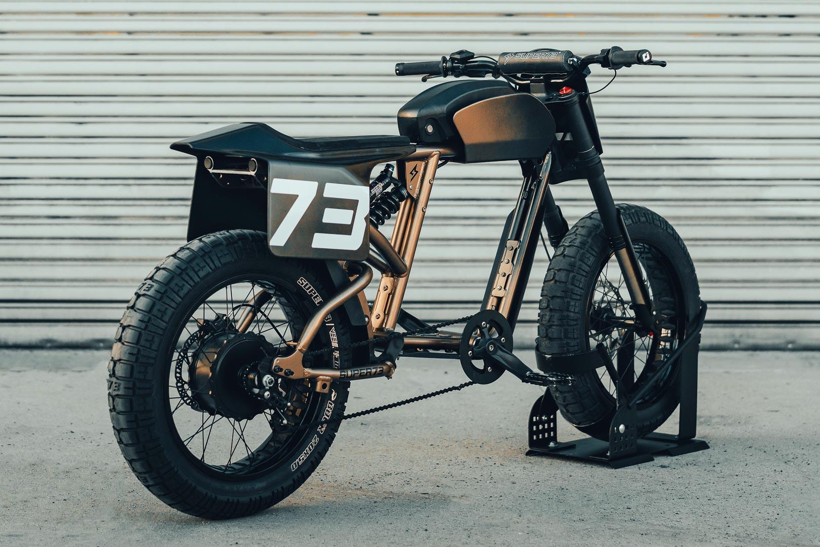 Super73 Flat Track RX: Chiếc xe đạp lai đầy táo bạo Ảnh 3