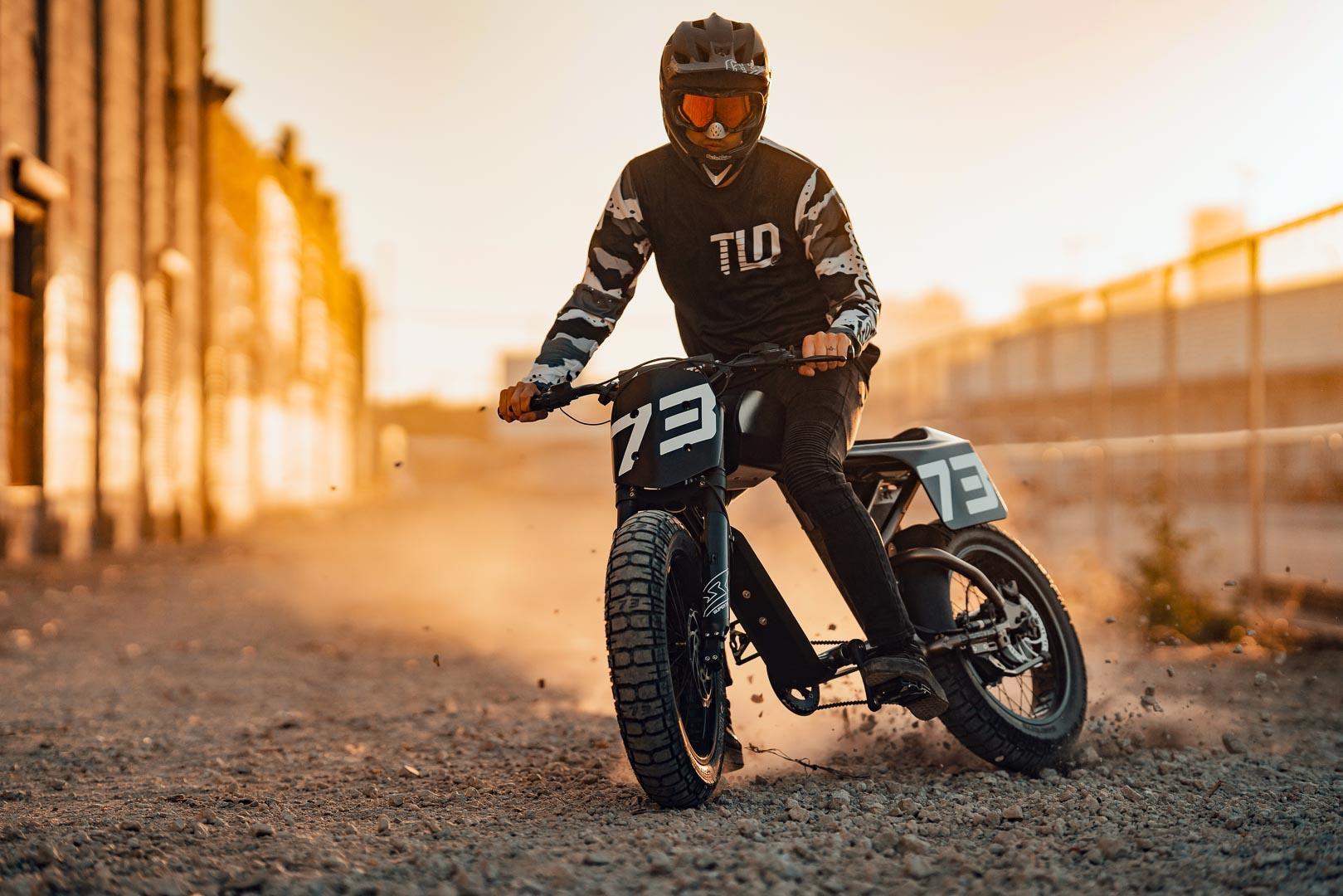 Super73 Flat Track RX: Chiếc xe đạp lai đầy táo bạo Ảnh 11