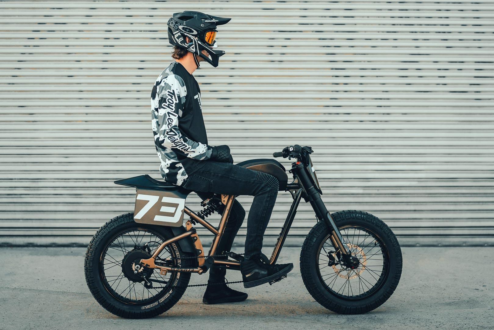 Super73 Flat Track RX: Chiếc xe đạp lai đầy táo bạo Ảnh 10
